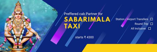 sabarimala taxi service